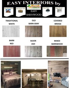 Easy Barnwood 1 Page Flyer